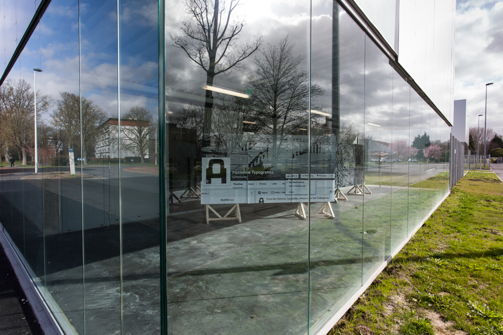 École Supérieure d'art & de communication, Ésac Cambrai. Ficciones Typografika, Erik Brandt, Géridan Jean-Michel, Edito, Crédit Photographique: Gilles Dupuis.