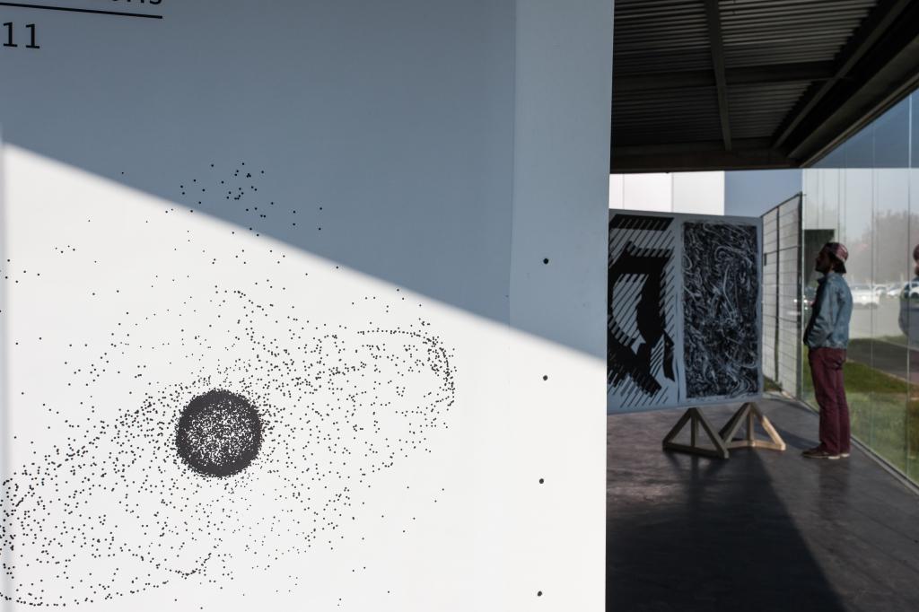 École Supérieure d'art & de communication, Ésac Cambrai. Ficciones Typografika, Erik Brandt, Edito, Crédit Photographique: Gilles Dupuis.